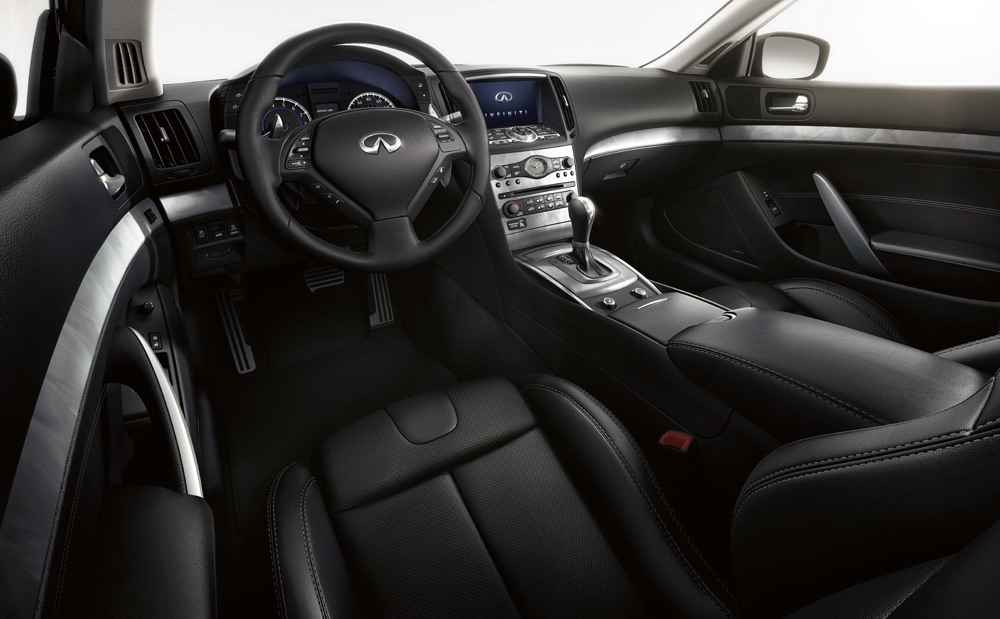 "The 2014 Infiniti Q60 is the embodiment of ""Inspired Performance,"" offering an unmatched combination of dynamic design, exhilarating performance and a modern, luxuriously crafted interior."